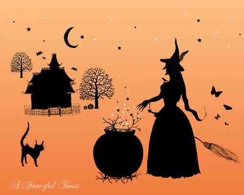 Silhouette Witch Town Final